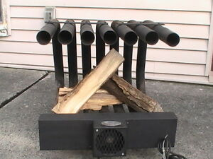 Fireplace Grate Heater Get More Heat, Use LESS Firewood Kawartha Lakes Peterborough Area image 3