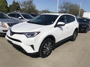 2016 TOYOTA RAV4 AWD LE model white All Wheel Drive