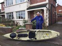 Fishing Kayak: Ocean Kayaks Tetra 12 Angler Version, £350
