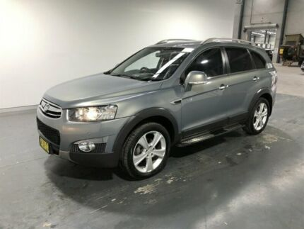 2013 Holden Captiva CG MY13 7 LX (4x4) Grey 6 Speed Automatic Wagon Beresfield Newcastle Area Preview