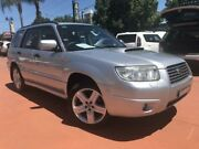 2005 Subaru Forester 79V MY06 XT Luxury Silver 4 Speed Automatic Wagon Richmond Hawkesbury Area Preview