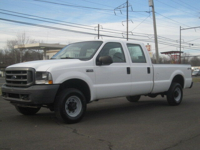 2004 ford f250 super duty 4x4 crew cab v8 1 owner runs great ready for work used ford f. Black Bedroom Furniture Sets. Home Design Ideas
