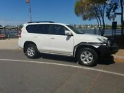 2016 Toyota Landcruiser Prado GXL White 6 Speed Sports Automatic Wagon Newstead Brisbane North East Preview