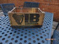 Vintage Harp Beer Crate