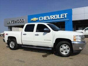 2012 Chevrolet Silverado 1500 LT Crew 4WD (Spray In, Bluetooth,
