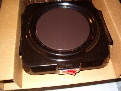 Bunn-o-matic Electric Warming Plate Coffee Pot Warmer Model Bcw Tested Made Usa