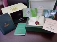 New Swiss Rolex wave box with accessories! £30!