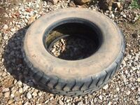 4 Agriculture Tyre's - AW 12 tonne dumper trailer