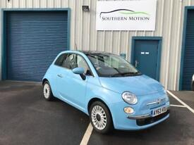 2013 13 (£300 DEPOSIT CONTRIBUTION AVAILABLE) Fiat 500 1.2 S/S LOUNGE