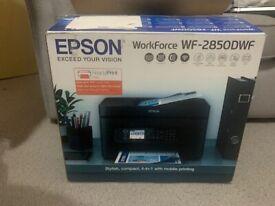 Epson Workforce WF-2850DWF Inkjet Printer All In One Print, Scan, Copy, Fax, ADF with Original Box