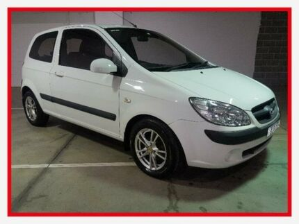 2009 Hyundai Getz TB S White Manual Hatchback Campbelltown Campbelltown Area Preview