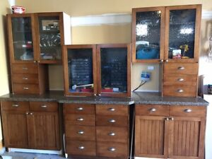 Kitchen Cabinets and 12 ft Granite Countertop