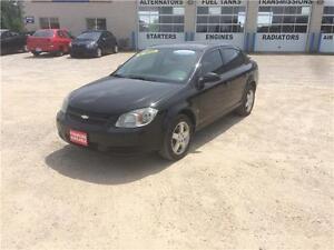 2009 Chevrolet Cobalt LT w/1SA 84,000Km Certified $6995+Hst