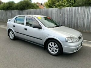 2005 Holden Astra TS MY05 Classic Equipe Silver 5 Speed Manual Hatchback North Hobart Hobart City Preview