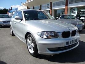 BMW 1 SERIES 2.0 118D SPORT 5d 141 BHP (silver) 2009