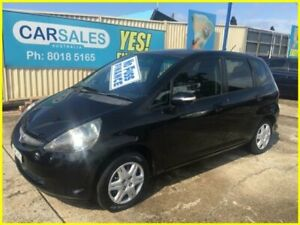 2008 Honda Jazz GE VTi Black 5 Speed Automatic Hatchback