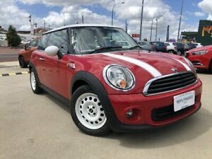 2013 Mini Coupe R58 Cooper Red 6 Speed Manual Coupe Victoria Park Victoria Park Area Preview