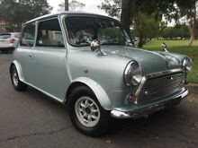 1987 Rover Mini TWIN SU Cooper Silver Manual Hatchback Burwood Burwood Area Preview