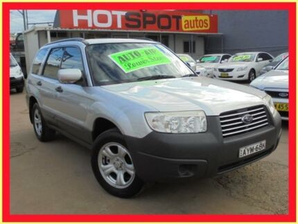 2006 Subaru Forester MY06 X Silver 4 Speed Auto Elec Sportshift Wagon Holroyd Parramatta Area Preview