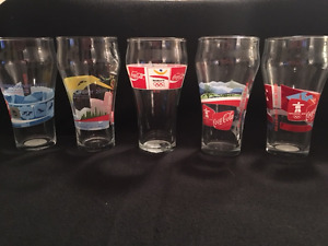 Collectable Coke Glasses