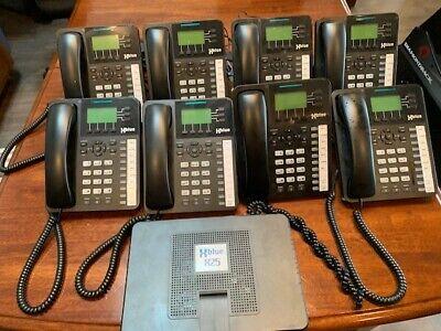Xblue X25 Voip Phone Sysem With 8 Phones
