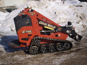 2015 Ditch Witch SK755 Mini Skid Steer.. 2,000 Hours