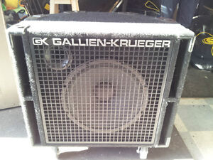 Gallien-Krueger 115RBH and 410RBH Bass Cabinets... Like New!