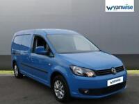 2013 Volkswagen Caddy 1.6 TDI 102PS Highline Van Diesel blue Manual