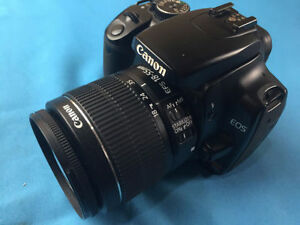 Canon Rebel XTi 10MP DSLR w/ EF-S 18-55mm IS lens