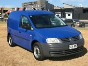 2007 Volkswagen Caddy 2KN SWB Blue 5 Speed Manual Van Mile End South West Torrens Area Preview