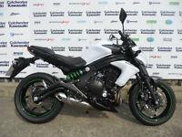 "Kawasaki ER6N ""65 Plate"" X Demonstrator 0% Finance Available"