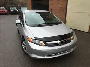 Honda Civic Sdn LX 2012, 42200KM, AUTO, AC, IMPECCABLE !