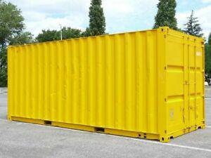 Conteneurs maritimes containers 20ft de stockage