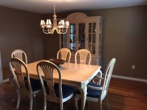 Dining Room Set Bleached Oak - High End Set CHEAP