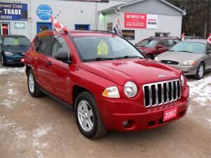 2007 Jeep Compass Sport|MUST SEE |4X4 | NO ACCIDENTS|157 KM