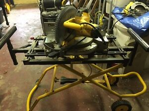Dealt Heavy Duty Miter Saw with Stand
