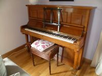 Piano and Piano stool for sale