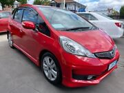 2012 Honda Jazz GE MY12 Vibe-S Red 5 Speed Automatic Hatchback North Hobart Hobart City Preview
