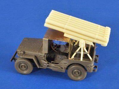 Verlinden 1/35 Calliope Jeep Rocket Launcher Conversion Set for Tamiya 2577