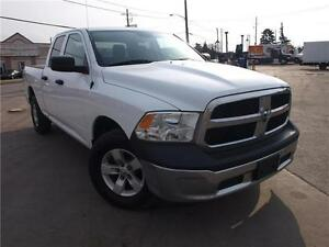 2013 Dodge Ram 1500 ST NO ACIIDENTS, QUAD CAB! 4X4! 416-742-5464
