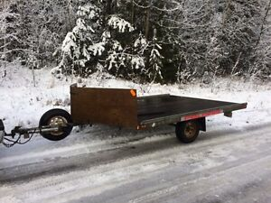 Karavan 2-Place Snowmobile Trailer Prince George British Columbia image 1
