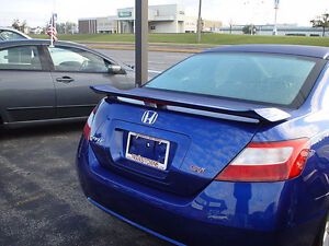 2006-2011 Honda Civic Coupe 2dr OEM SI Style Trunk Wing Spoiler