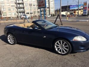 Gorgeous Jaguar convertible CXK for sale. 2007.