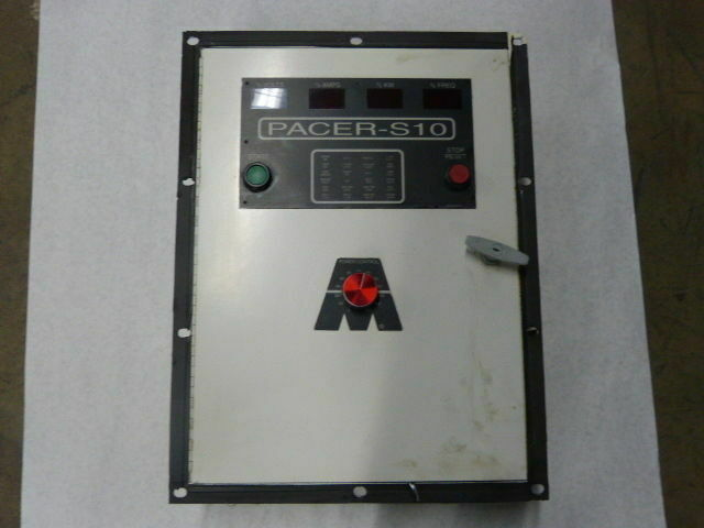 Ajax Tocco Magnethermic PACER-S10 Control Cabinet for Power Supply  USED