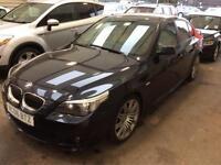 2006 06 BMW 525i 2.5 6 Cylinder M SPORT Saloon * SAT.NAV * Htd.Elec.LEATHER *86k