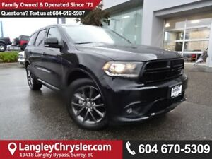 2017 Dodge Durango GT *ACCIDENT FREE*DEALER CERTIFIED*