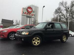 2004 Subaru Forester XT w/Lthr AWD NO ACCIDENTS