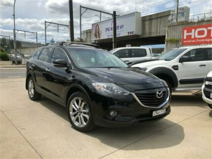 2013 Mazda CX-9 TB10A5 Luxury Black Sports Automatic Wagon Granville Parramatta Area Preview