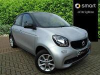 smart forfour PASSION (silver) 2016-05-14