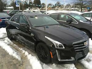 2016 Cadillac CTS black on black ex demo just 6000 km